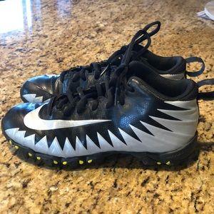 Boys Nike football spikes